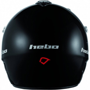 Hebo Zone Polycarbonate Trials Helmet - Shiny Black Image 2
