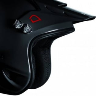 Hebo Zone Polycarbonate Trials Helmet - Shiny Black Image 4
