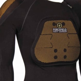 Forcefield Pro Shirt X-V 2 Body Armour - Black Image 2