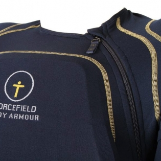 Forcefield Sport Shirt Level 2 Body Armour - Blue Yellow Image 2