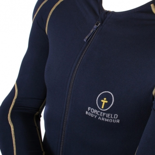 Forcefield Sport Jacket Level 1 Body Armour - Blue Yellow Image 2