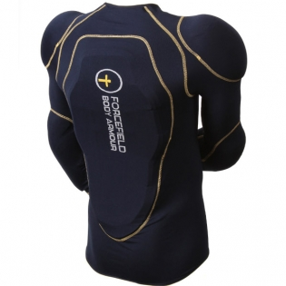 Forcefield Sport Jacket Level 1 Body Armour - Blue Yellow Image 3