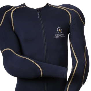 Forcefield Sport Jacket Level 2 Body Armour - Blue Yellow Image 2
