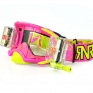 Rip n Roll Platinum WVS Roll Off Goggles - Neon Pink