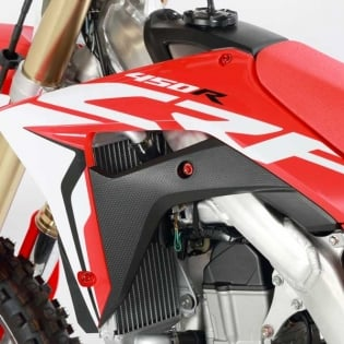 Zeta Aluminium Bolt Kit - Honda Red Image 2