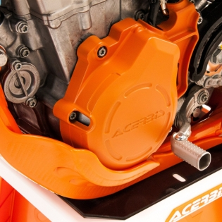 Acerbis X-Power Husqvarna Engine Cover Kit - Silver Image 4