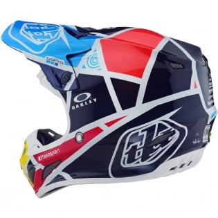 Troy Lee Designs SE4 Carbon Helmet - Metric Navy Image 2