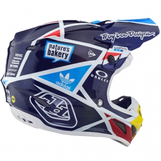 Troy Lee Designs SE4 Carbon Helmet - Metric Navy Image 4