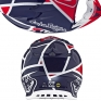 Troy Lee Designs SE4 Composite Helmet - Metric Red Navy