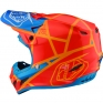 Troy Lee Designs SE4 Composite Helmet - Metric Honey Orange