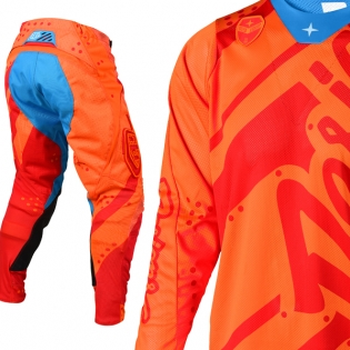 Troy Lee Designs SE Air Kit Combo - Shadow Honey Red Image 2