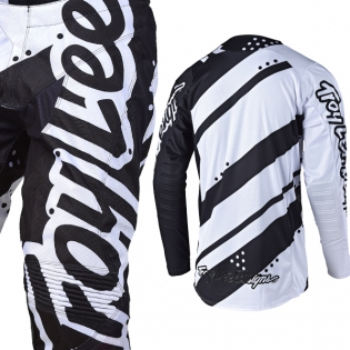 Troy Lee Designs SE Kit Combo - Shadow White Black Image 4