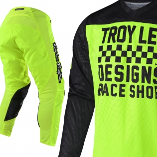 Troy Lee Designs GP Air Kit Combo - Raceshop Flo Yellow Image 2