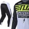 Troy Lee Designs GP Air Kit Combo - Bolt White Flo Yellow