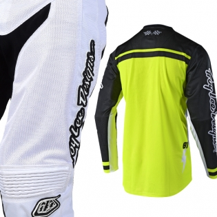 Troy Lee Designs GP Air Kit Combo - Bolt White Flo Yellow Image 4