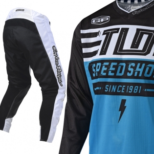 Troy Lee Designs GP Air Kit Combo - Bolt White Ocean Image 2