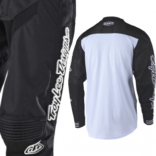 Troy Lee Designs GP Air Kit Combo - Raceshop Black Black White Image 4