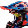 LS2 Subverter MX470 Helmet - Nimble Black Blue Orange