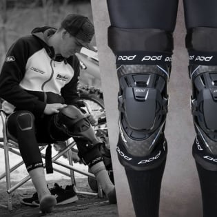 POD KX Knee Brace Under Sleeves Image 3