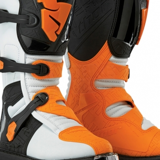 Thor Blitz Boots - White Orange Image 4