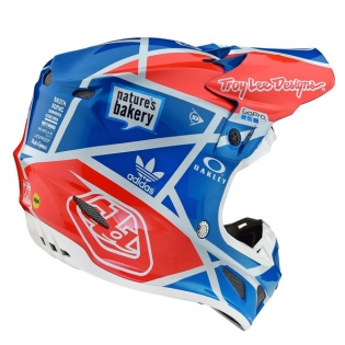 Troy Lee Designs SE4 Metric Composite Helmet - Ocean Image 4