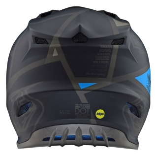 Troy Lee Designs SE4 Metric Polyacrylite Helmet - Matt Black Image 2