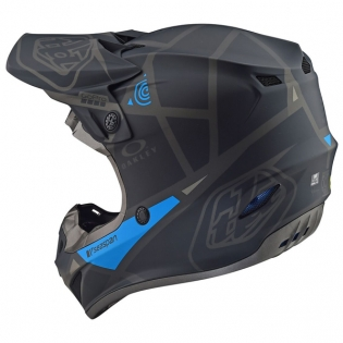 Troy Lee Designs SE4 Metric Polyacrylite Helmet - Matt Black Image 3