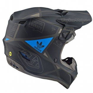 Troy Lee Designs SE4 Metric Polyacrylite Helmet - Matt Black Image 4