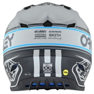 Troy Lee Designs SE4 Team Edition 2 Polyacrylite Helmet - Grey Image 2