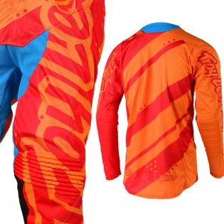 Troy Lee Designs SE Air Jersey - Shadow Honey Red Image 4