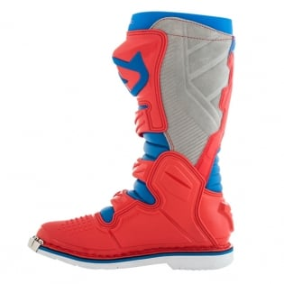 Acerbis X-Pro V Blue Red Motocross Boots Image 2