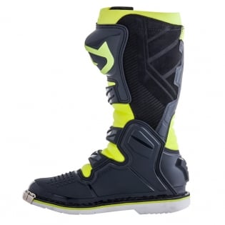 Acerbis X-Pro V Grey Yellow Motocross Boots Image 2