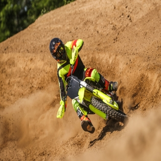 Acerbis X-Pro V Grey Yellow Motocross Boots Image 3