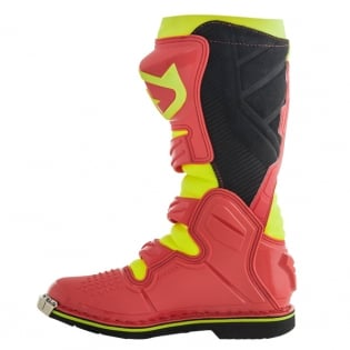 Acerbis X-Pro V Red Yellow Motocross Boots Image 2