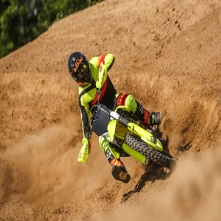 Acerbis X-Pro V Green Red Motocross Boots Image 2