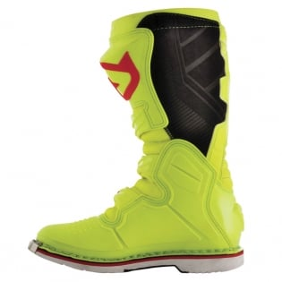 Acerbis X-Pro V Fluo Yellow Black Motocross Boots Image 2