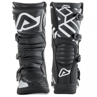Acerbis X-Team Black White Motocross Boots Image 3
