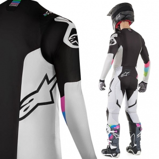 Alpinestars SuperTech LE Vision Cool Grey Black Pants Image 2