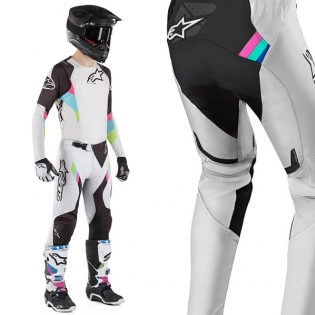 Alpinestars SuperTech LE Vision Cool Grey Black Pants Image 4