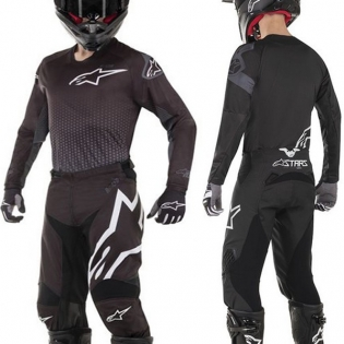 Alpinestars Kids Racer Graphite Black Anthracite Kit Combo Image 3