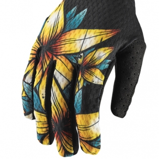 Thor Agile Floral Gloves Image 4