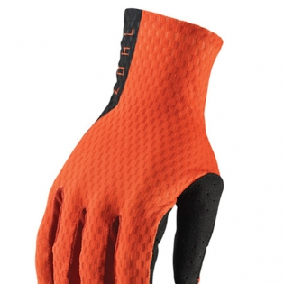 Thor Agile Red Orange Black Gloves Image 2