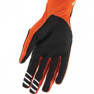 Thor Agile Red Orange Black Gloves Image 3