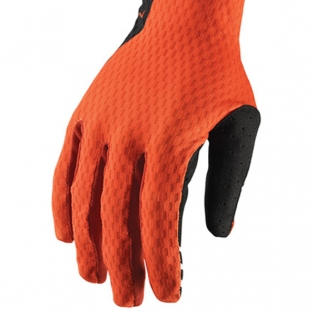 Thor Agile Red Orange Black Gloves Image 4