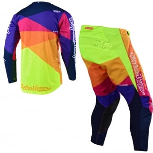 Troy Lee Designs Kids GP Jet Red Yellow Kit Combo Image 3