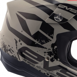 EVS T5 Grappler Grey Helmet Image 3