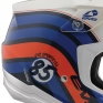 EVS T5 Cosmic Dark Blue Orange Helmet