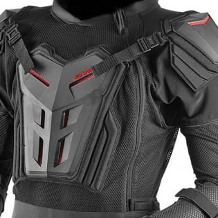EVS Comp Suit CE Approved Black Body Armour Image 2