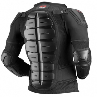 EVS Comp Suit CE Approved Black Body Armour Image 3