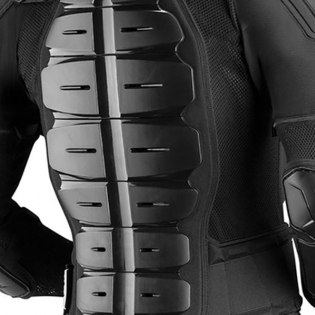 EVS Comp Suit CE Approved Black Body Armour Image 4